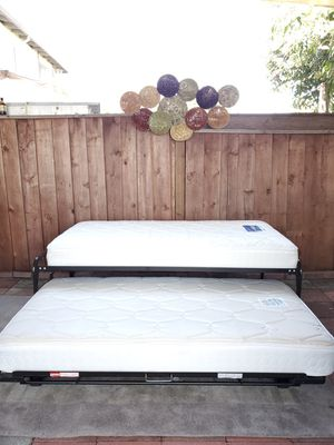 In like new Condition Twin Trundle Bed** for Sale in San Jose, CA