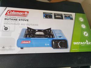 Coleman camp stove, butane new for Sale in Stephenson, VA