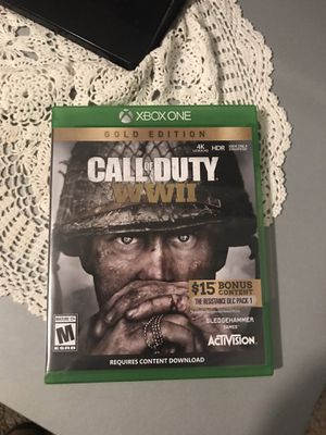 Xbox One Ww2 game for Sale in Pittsburg, CA