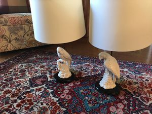 Pair of Bird Lamps for Sale in Tampa, FL