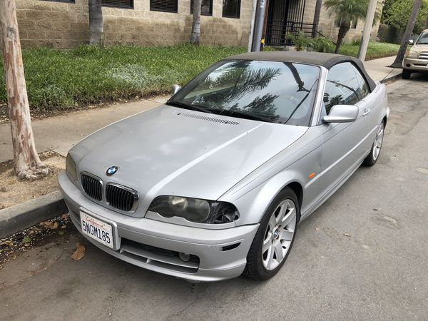 2000 BMW 323Ci parting out