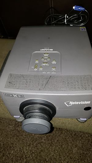 Notevision Shark Projector with Screen for Sale in Ontario, CA