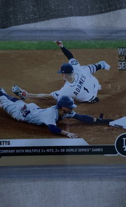 Mookie Betts World Series Card for Sale in Whittier,  CA