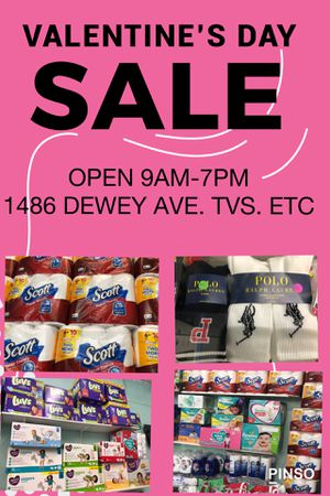 VALENTINE'S DAY SPECIALS. OPEN 9AM-7PM. 1486 DEWEY AVE for Sale in Rochester, NY