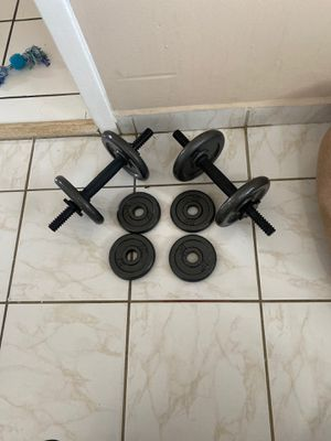 Dumbbells for Sale in Miami, FL