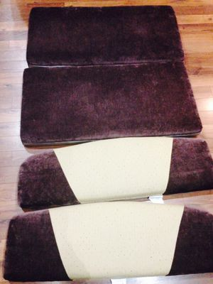 RV Kitchenette Cushions Set of Four for Jazz 2005 RV for Sale in Kaysville, UT