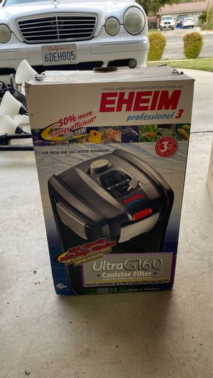 Eheim professional 3 ultra G160 aquarium filtration filter for Sale in San Dimas, CA