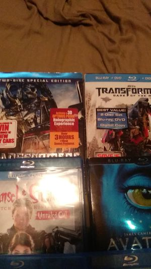 Blu-rays 3 for $10 for Sale in Glendale, AZ