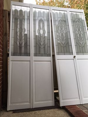 Decorative Glass Bifold Doors for Sale in Clinton, MD
