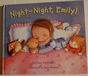 Night, night Emily hardcover book for Sale in Ontario, CA