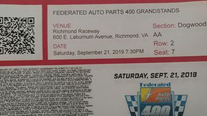 NASCAR race tickets for Sale in Ruther Glen, VA