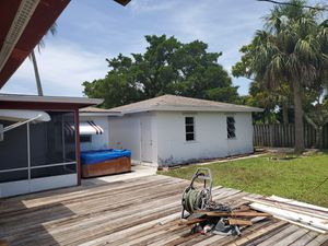 Pretreated exterior wood deck 16×22 for Sale in Fort Lauderdale, FL