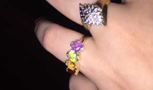 10k yellow gold & white gold ring. for Sale in Hayes, VA