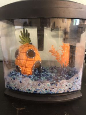 Aquarium tank heater pebbles filter light pineapple for Sale in Maple Valley, WA