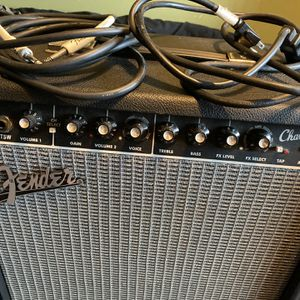 Fender Champion 40 Amplifier w/ Guitar Cable for Sale in Union City, CA