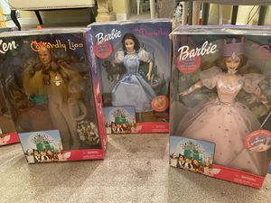 collection of Barbie Wizard of Oz set for Sale in Punta Gorda, FL