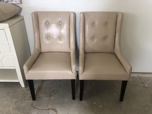 Set of 2 beautiful chairs for Sale in Bakersfield, CA