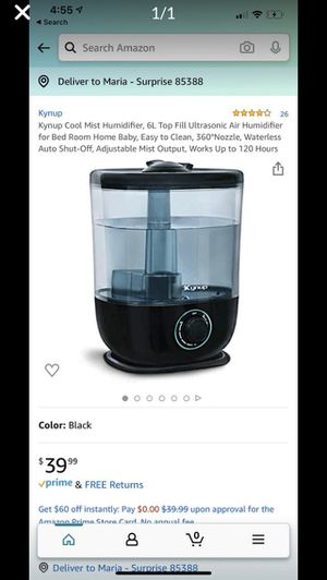 Humidifier for Sale in Surprise, AZ