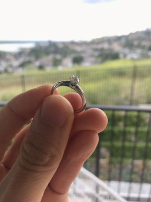 Tiffany & Co. engagment ring .23 carot with ALL paperwork for Sale in Spring Valley, CA