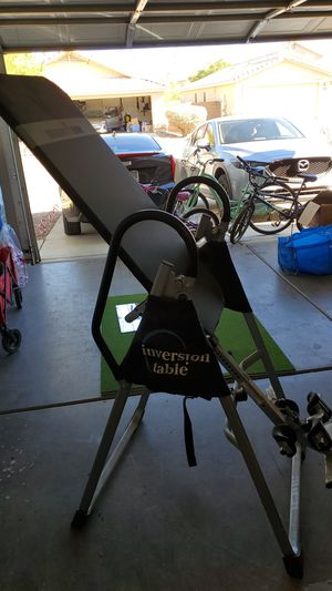 Inversion table - Ironman for Sale in Tucson, AZ