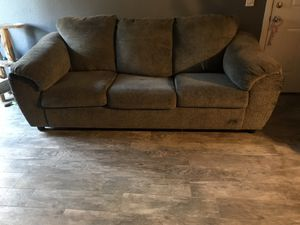 Nice Grey couch 🛋 from Ashley furniture for Sale in DEVORE HGHTS, CA