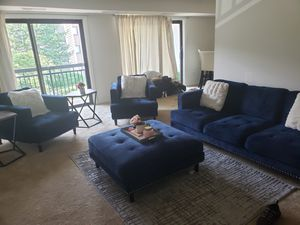 Sofa.. comfortable... very firm seats excellent condition for Sale in Alexandria, VA
