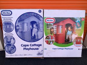 Little Tikes Cape Cottage Playhouse Outdoors Play Toy for Sale in Garden Grove, CA