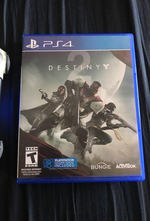Destiny 2 PS4 for Sale in Springfield, VA