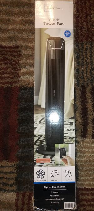 "Mainstays 36"" Tower Fan for Sale in Woodbridge, VA"