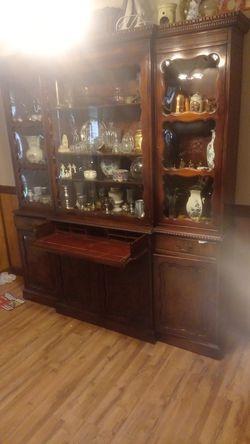 Antique secretary desk armoire. Trade or cash for Sale in Lutz,  FL