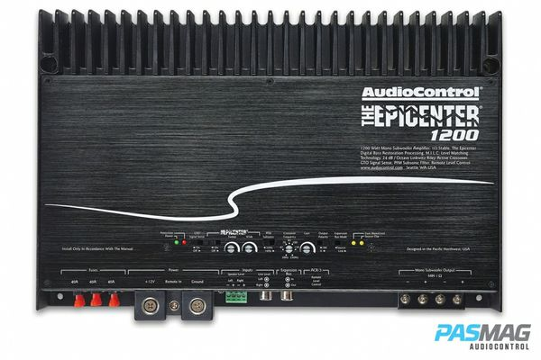 the epicenter 1200w rms car amplifier