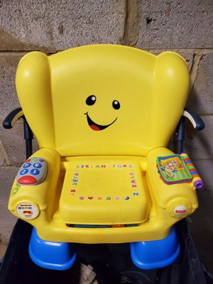 """Fisher-Price """"Laugh & Learn Smart Stages"""" Chair - firm price. for Sale in Alexandria, VA"""