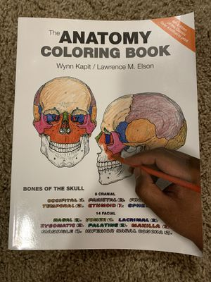 The anatomy coloring book (new) for Sale in Puyallup, WA