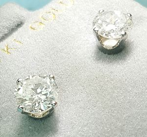 2.18 carat diamond stud earrings for Sale in Atlanta, GA