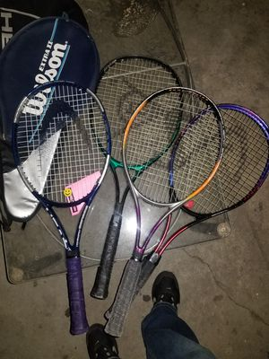 TENNIS RACKETS ALL 4 FOR $30 for Sale in Anaheim, CA