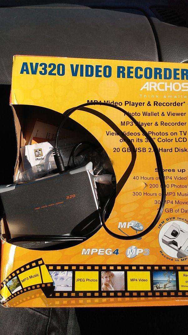 Av320 video recorder