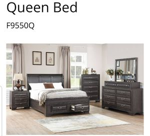 BRAND NEW QUEEN SIZE BED FRAME ADD MATTRESS AVAILABLE USA MEXICO FURNITURE for Sale in Montclair, CA