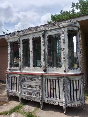 French Rococo cabinet for Sale in Grand Prairie, TX