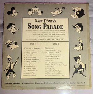 Walt Disney Autographed Record Album (SIGNED BOTH SIDES) for Sale in Lancaster, NY
