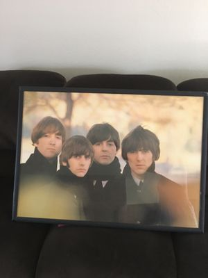 Beatles framed picture for Sale in San Jose, CA