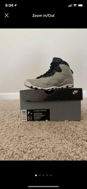 Air Jordan Retro 10: Cement for Sale in Durham, NC