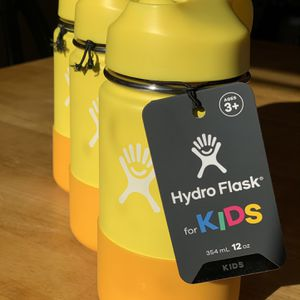 Brand New EACH Hydroflask Kids 12 Oz Straw Wide Mouth for Sale in Mountain View, CA