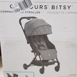 Brand New - Contours Bitsy Compact Fold Stroller Midnight for Sale in Niles, IL