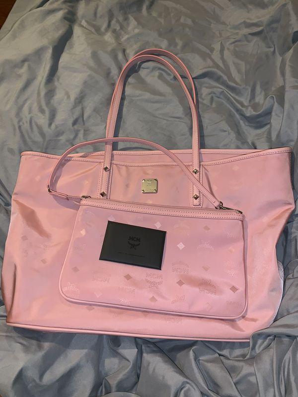 MCM Authentic medium tote w/ small hand bag