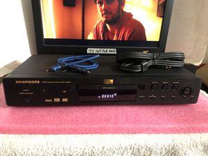 Marantz DV6500 CD/SACD Super Audio CD/DVD Player W Optical , AV Cables for Sale in San Jose, CA