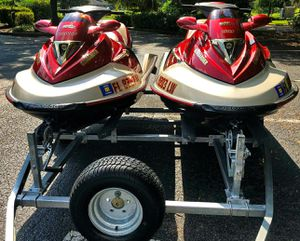 Twin 2OO2 Sea-D00 GTX 4-Tec_with_trailer_$1600 all! for Sale in Nashville, TN
