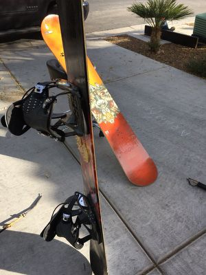 2 snowboards with bag for Sale in Las Vegas, NV