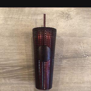 Starbucks Burgundy Disco Grid Tumbler for Sale in Covina, CA
