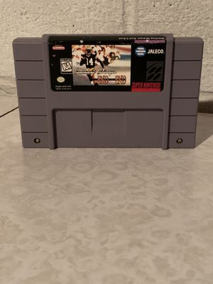 Sterling Sharpe: End 2 End Super Nintendo SNES Authentic Cartridge Only Tested for Sale in Euclid, OH
