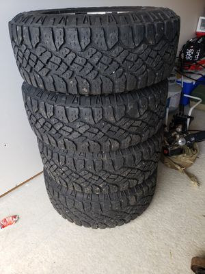 Truck Tires and Rims good year 275/65r/18 for Sale in Elma, WA